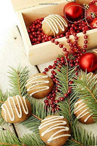 Recipe Journal: Christmas Cookie Blank Recipe Journal To Write In Ornament And Beads Design