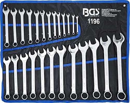 BGS BGS 1196 Maul-Ringschlüssel-Satz 25-tlg. SW Bild