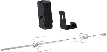 Tepro Universal-Grillspieß Set, Batteriebetrieb, 10 x 92 x 12 cm, silber/schwarz, 8590