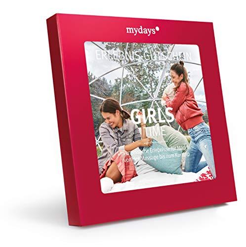 mydays Erlebnis-Gutschein Girls-Time, Geburtstags-Geschenk für Frauen, Beste Freundin Geschenke, BFF Geschenke, Schwester Geschenk, 30. Geburtstag Frauen