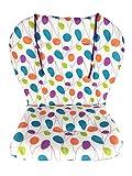 Coussin de chaise haute, Amcho Baby Poussette/Chaise haute/Coussin de siège de voiture Film de protection Coussin de chaise haute respirant (feuilles colorées)