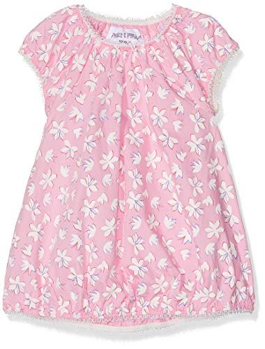Phister & Philina Baby-Mädchen Frigge Flower Kleid, Mehrfarbig (Prism Pink Pri), 80