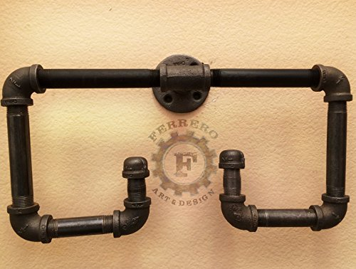 Hand Towel Rack, Industrial Pipes, Steampunk Decor, Industrial Decor, Steampunk Style, Bathroom Decor, Home Decor