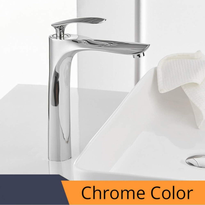 Lddpl Wasserhahn Basin Faucets Bath Water Basin Mixer Tap Bathroom Faucet Hot And Cold Chrome-Plated Brass Toilet Sink Water Crane Gold Mixer