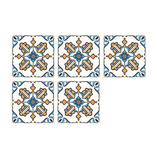 QOXEFPJZ Cenefa Adhesiva Cocina 10 unids Creative Tile Decal Económico Efecto Visual Económico Efecto Visual PVC Decoración de la Etiqueta engomada para la decoración del hogar Supplie-20 * 20cm