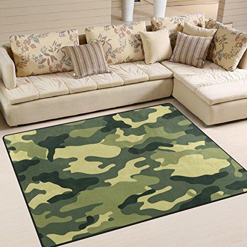 ingbags Super Weiche Modern Camouflage 24Bereich Teppiche Wohnzimmer Teppich Schlafzimmer Teppich für Kinder Play massiv Home Decorator Boden Teppich und Teppiche 160x 121,9cm, multi, 63 x 48 Inch