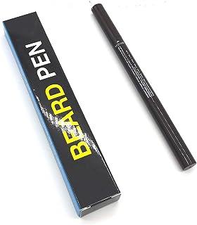 AKDSteel Men's Beard Pen Paint Waterproof Beard Enhancer Mustache Pencil Men's Beauty Black L31 Pack