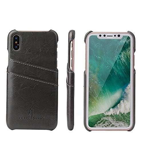 RZL Teléfono móvil Fundas para iPhone 12/12 Pro / 12 Pro MAX 12 Mini, Cera de Aceite de Cera de Cuero de Espalda de Lujo Original de la Marca del Casco de Alta Gama para iPhone 12 11pro m