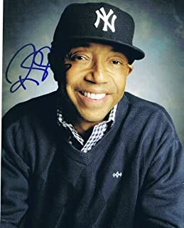 RUSSELL SIMMONS - Def Jam AUTOGRAPH Signed 8x10 Photo