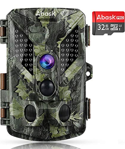 """Abask 16MP 1080P Wildlife Hunting Motion Activated 2.4"""" LCD Screen with 32G Card Now $34.99 (Was $79.99)"""