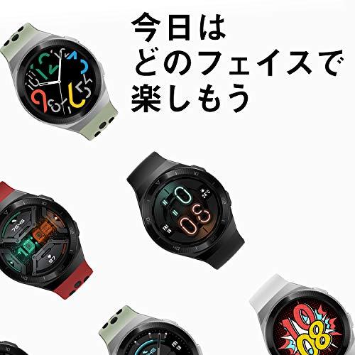 HUAWEI(ファーウェイ)WatchGT2e46mmスマートウォッチ2週間長時間バッテリー血中酸素レベル測定機能GPSみちびき対応グラファイトブラック【日本正規代理店品】