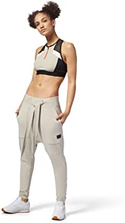 Reebok Womens Colour Block Cropped Sports Bra Ladies Top
