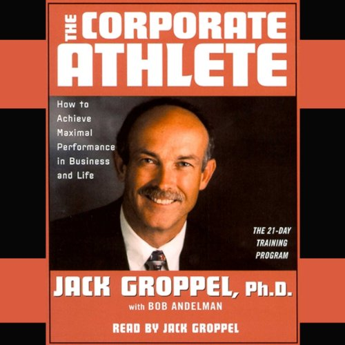 The Corporate Athlete audiobook cover art