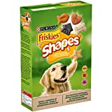 Purina Friskies Shapes Biscotti per Cane con l'Aggiunta di Vitamine, 8 Scatole da 400 g Ciascuna