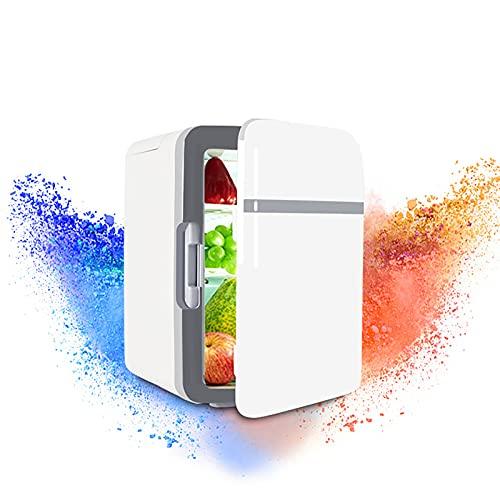 WZRY Refrigerador portátil de automóviles, Mini Nevera, con congelador para automóvil, vehículo, Coche, camión, RV, Barco 12/220 voltios 10L