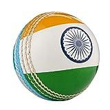 Hunts County Cricket-Ball mit internationaler Flagge -