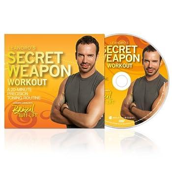 Brazil Butt Lift Leandro's Secret Weapon  20 Minute Precision Toning DVD Workout