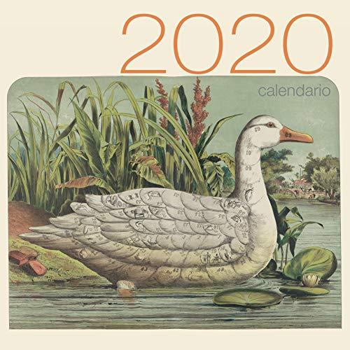 Giochi da tavolo vintage. Calendario 2020 da muro