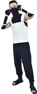 US Size Adult Hatake Kakashi Anbu Vest Cosplay Costume