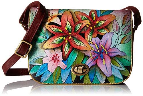 Anuschka 512 Handtasche, (Edle Lilien), Einheitsgröße