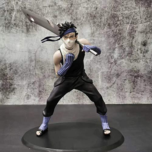 brandless Figura de 30 cm Naruto Momochi Zabuza PVC japonais Anime Naruto modèle à collectionner jouets décoration de Bureau-Caja de 30cmB