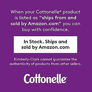 Cottonelle Ultra ComfortCare Toilet Paper, Bath Tissue, 12 Double Rolls (12 Double Rolls = 24 Regular Rolls)