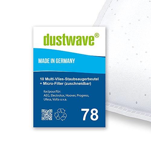 Megapack - 20 Staubsaugerbeutel geeignet für AEG - Smart 485 Bodenstaubsauger von dustwave® Markenstaubbeutel Made in Germany + inkl. Micro-Filter