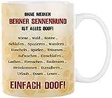 Cadouri Hunde-Tasse OHNE HUND IST ALLES DOOF! ︎ personalisiert ︎ mit Hunderasse┊Kaffeetasse Bürotasse mit Spruch┊tolle Geschenkidee für Hundeliebhaber