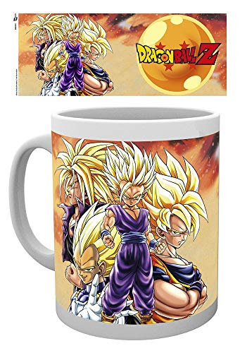 GYE Dragonball Z mug Super Saiyans