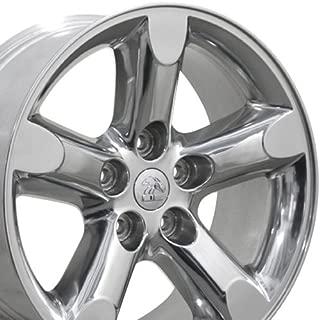 OE Wheels 20 Inch Fits Chrysler Aspen Dodge Dakota Durango Ram 1500 RAM 1500 Style DG56 Polished 20x9 Rim Hollander 2267