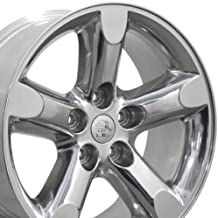 OE Wheels 20 Inch Fits Chrysler Aspen Dodge Dakota Durango Ram 1500 RAM 1500 Style DG56 Polished 20x9 Rim Hollander 2267