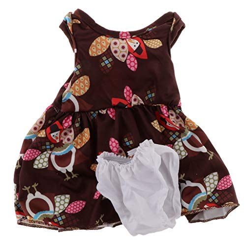 HomeDecTime Bonito Vestido de Ropa Interior para AG American Doll My Life Doll