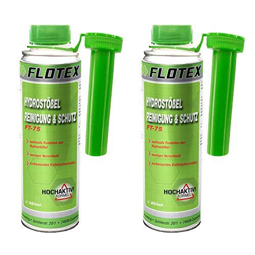Flotex Hydrostößel Reinigung & Schutz, 2 x 250ml Additiv reinigt Ventilstößel
