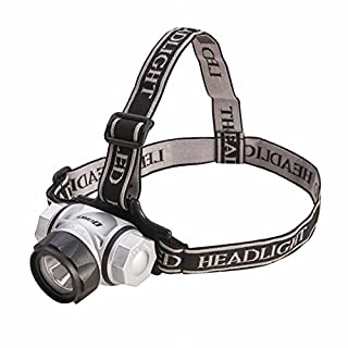 Dorcy 200-Lumen Weather Resistant Adjustable LED Headlight Flashlight with (2) Brightness Modes, Silver (41-2098) (B000YXJ018) | Amazon price tracker / tracking, Amazon price history charts, Amazon price watches, Amazon price drop alerts
