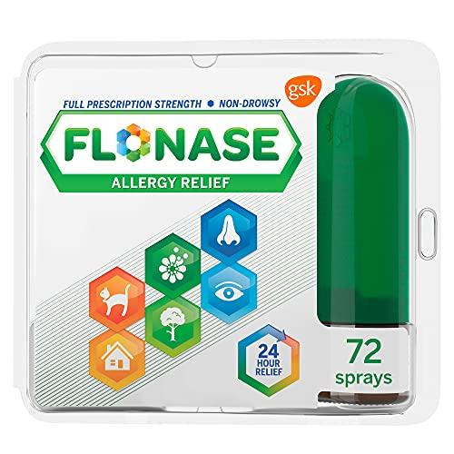 Flonase Allergy Relief Nasal Spray, 24 Hour Non...