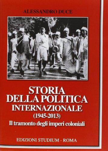 Storia della politica internazionale (1945-2013)
