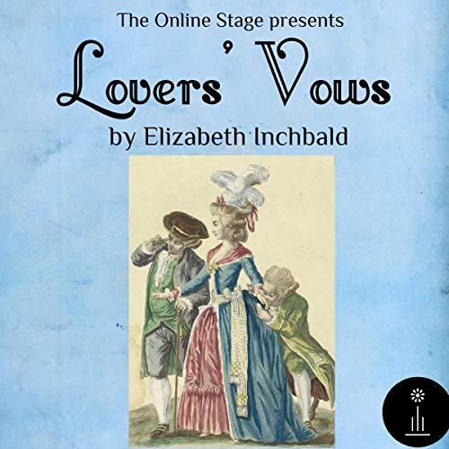 Lovers' Vows audiobook cover art