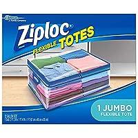 Ziploc (ジップロック) フレキシブル トート Flexible Tote (1つ入り) [並行輸入品]
