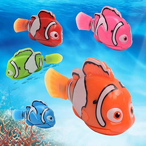 Natation Fish Robot Poisson Électronique - 5 Pcs Nouveau...