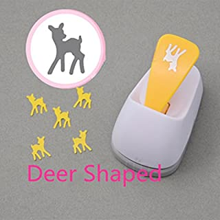 Lavenz Deer shaped save power paper/eva craft punch Scrapbook Handmade animal punchers DIY hole punches giraffe hole punch