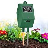 XDDIAS Test del Suolo, 3 in 1 Misuratore di PH del Terreno umidità/Luce Tester Suolo umidità del Terreno per Giardino Fattoria Uso Interno Esterno