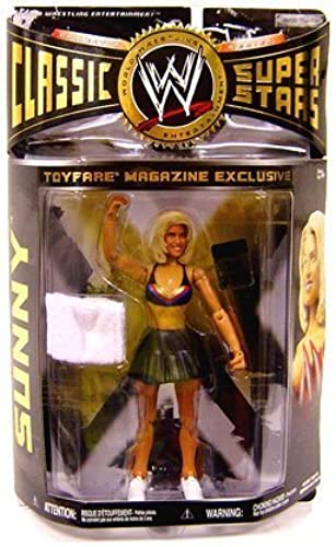 WWE Wrestling Classic Superstars ToyFare Exclusive Action Figure Sunny by Jakks Pacific
