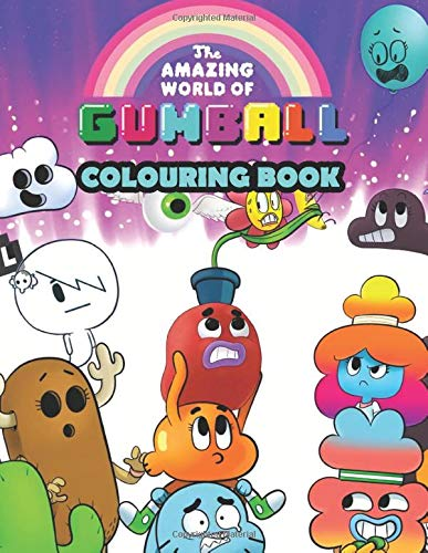 The Amazing World of Gumball Colouring Book: Great colouring book for Gumball fans