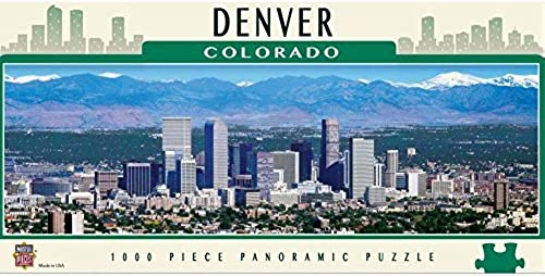 Denver 1000pc Panoramic by MasterPieces
