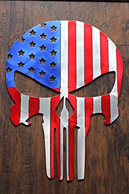 Punisher Flag USA from