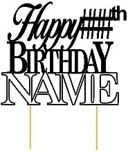 big size birthday cake with name