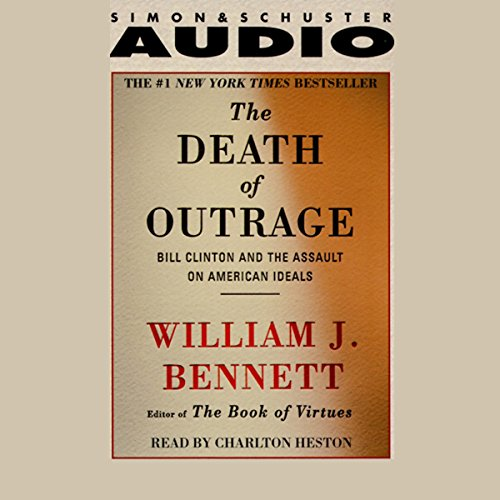 The Death of Outrage audiobook cover art