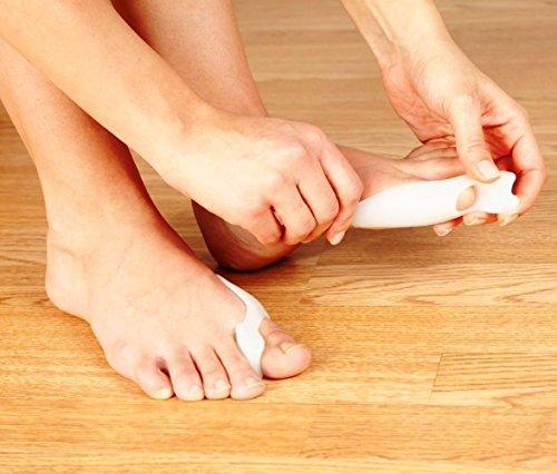BLISSANY Separador by Yoga para Sus pies-Relajado, Entrena y corrige Sus Dedos, 1par