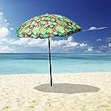 Outdoor Garden Beach Umbrella Mossman / Makena1.8m Sun Shade w/Carry Bag Tilt Pool