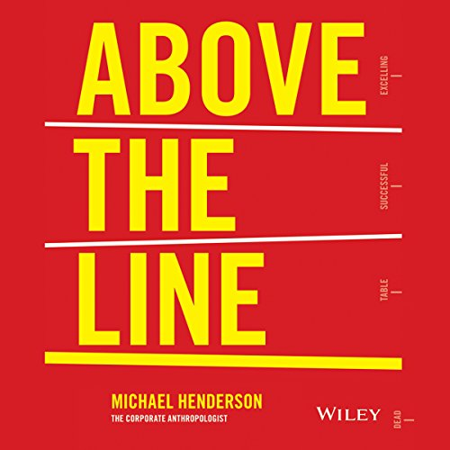 Above the Line audiobook cover art